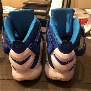 adc37250b4c Nike Shoes - Nike Lebron Soldier lx Tb blue white basketball